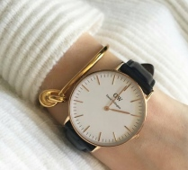 Celine bracelet / Montre Daniel Wellington